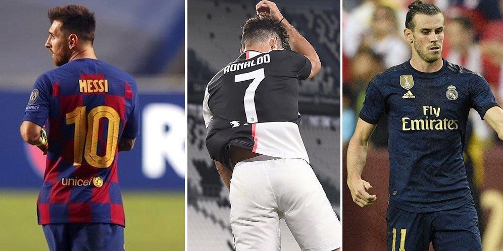 10 Pemain Berpenghasilan Tertinggi di Dunia 2020: Messi 1, Ronaldo 2