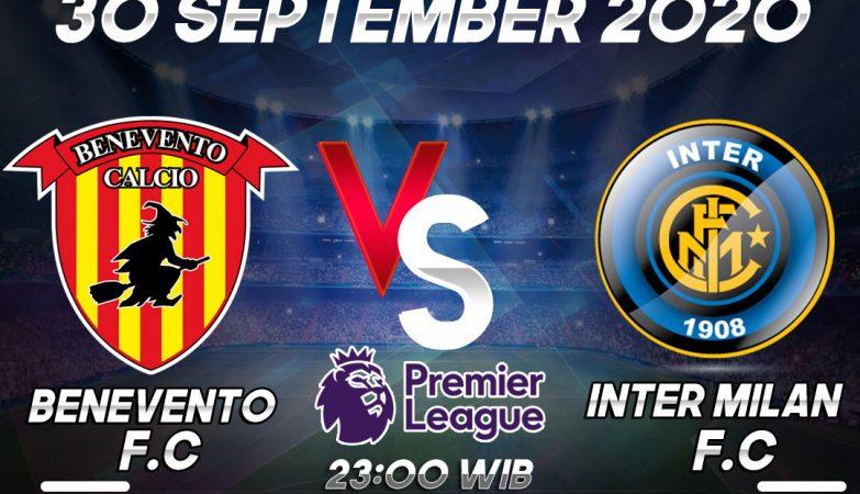 Prediksi Benevento vs Inter Milan 30 September 2020