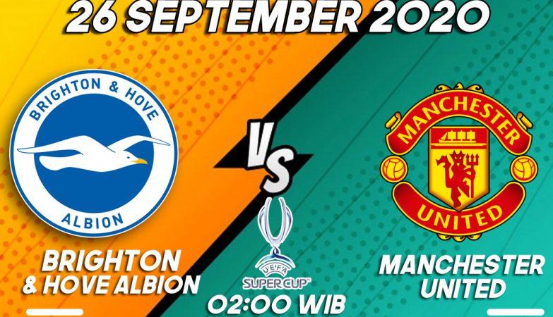 Prediksi Brighton VS Manchester United 26 September 2020