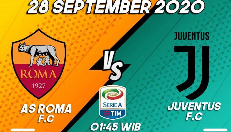 Prediksi Roma vs Juventus 28 September 2020