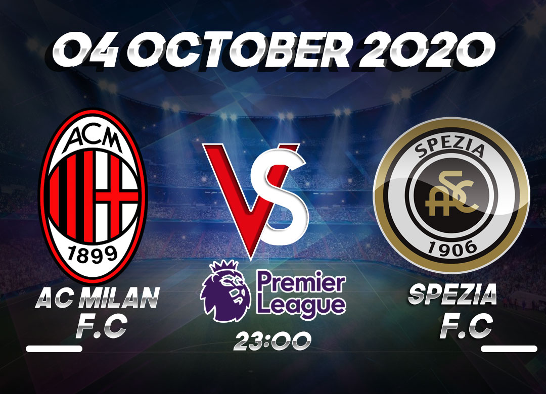Prediksi AC Milan vs Spezia 04 October 2020