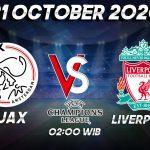 Prediksi Ajax vs Liverpool 21 Oktober 2020