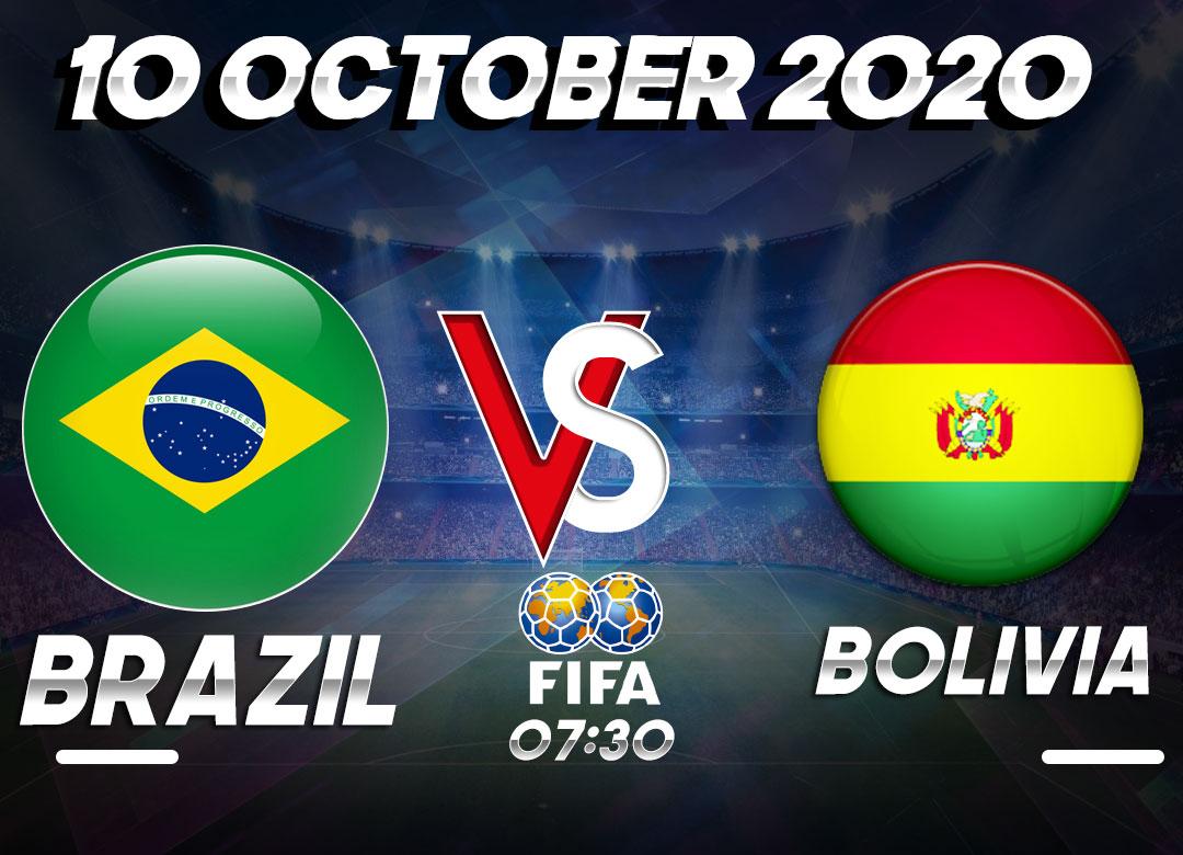 Prediksi Brasil vs Bolivia 10 October 2020