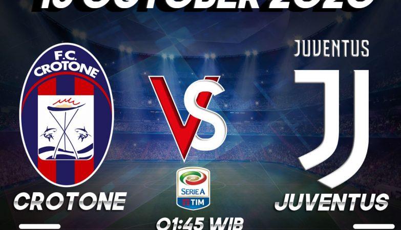 Prediksi Crotone vs Juventus 17 October 2020