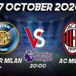 Prediksi InterMilan vs Milan 17 October 2020