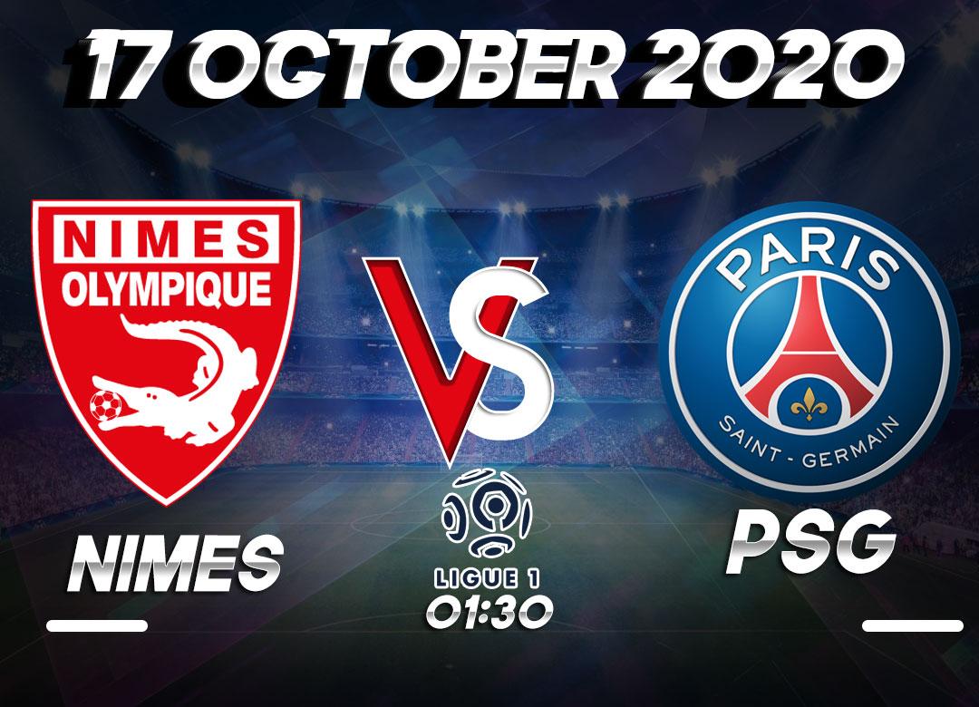 Prediksi Nimes vs PSG 17 October 2020