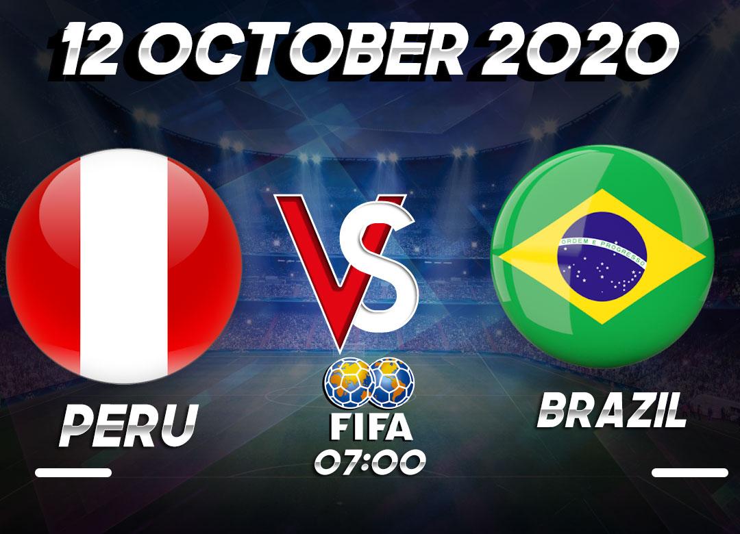 Prediksi Peru vs Brazil 12 October 2020