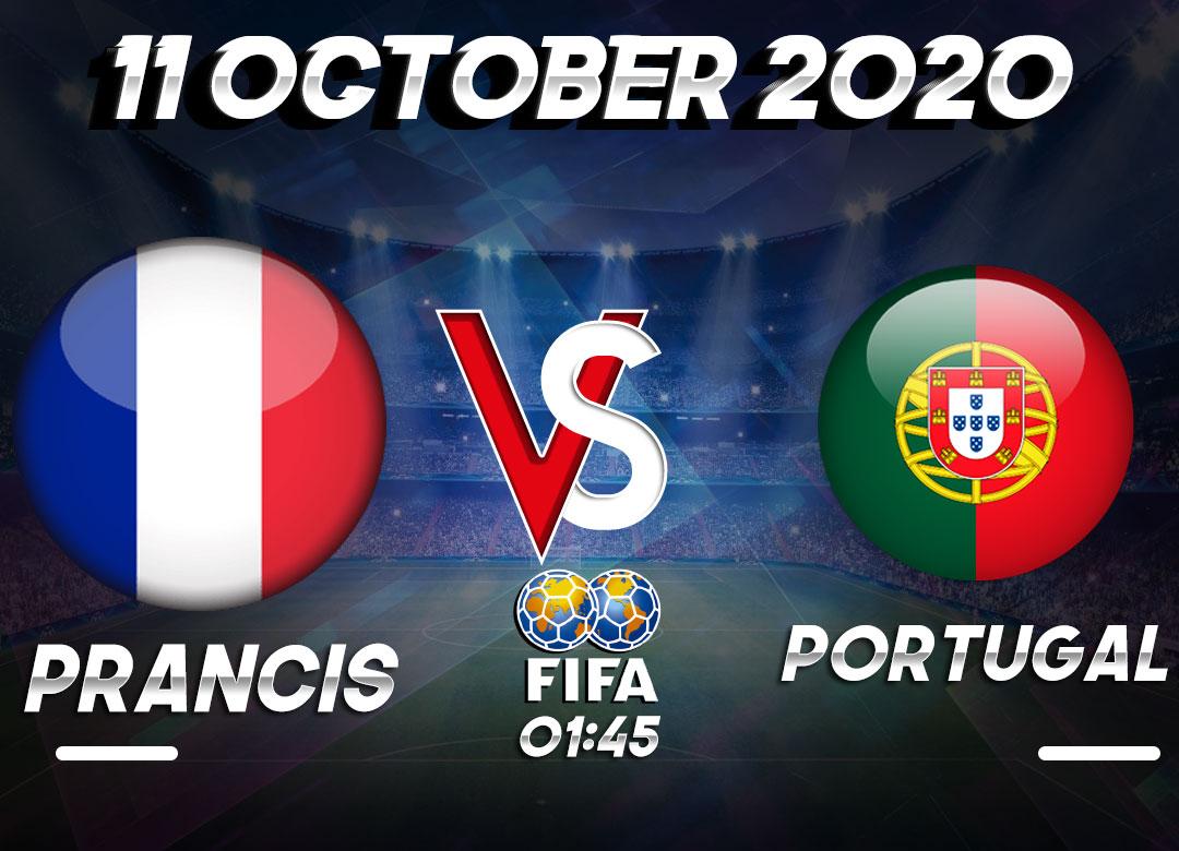 Prediksi Prancis vs Portugal 11 October 2020