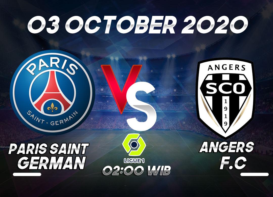 Prediksi PSG vs Angers 03 October 2020