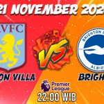 Prediksi Aston Vs Brighton 21 November 2020