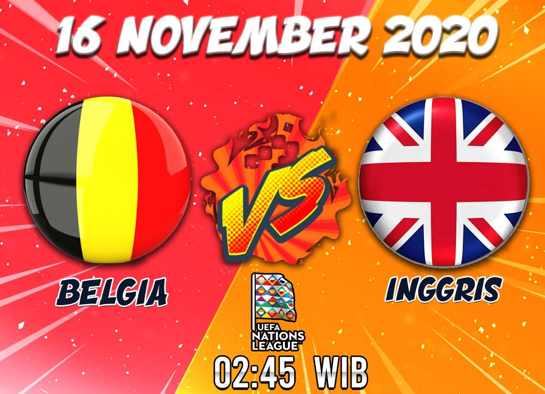 Prediksi Belgia Vs Inggris 16 November 2020