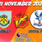 Prediksi Burnley Vs Crystal Palace 21 November 2020