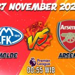 Prediksi Molde vs Arsenal 27 November 2020