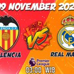 Prediksi Valencia vs Real Madrid 9 November 2020