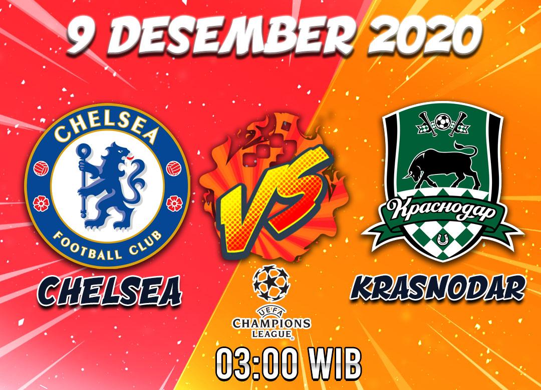 Prediksi Chelsea vs Krasnodar 9 Desember 2020