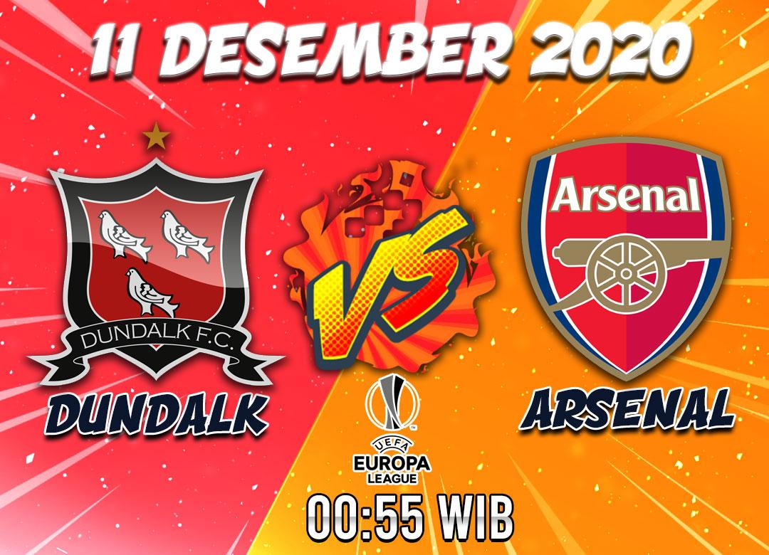 Prediksi Dundalk vs Arsenal 11 Desember 2020