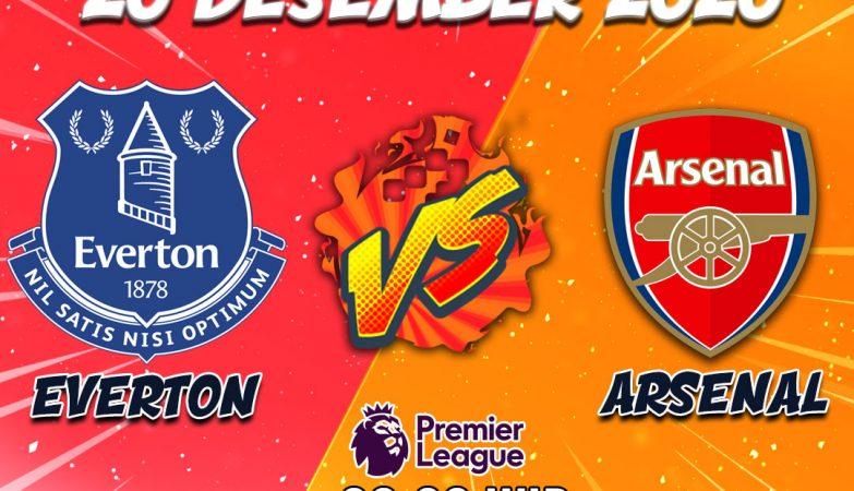 Prediksi Everton vs Arsenal 20 Desember 2020