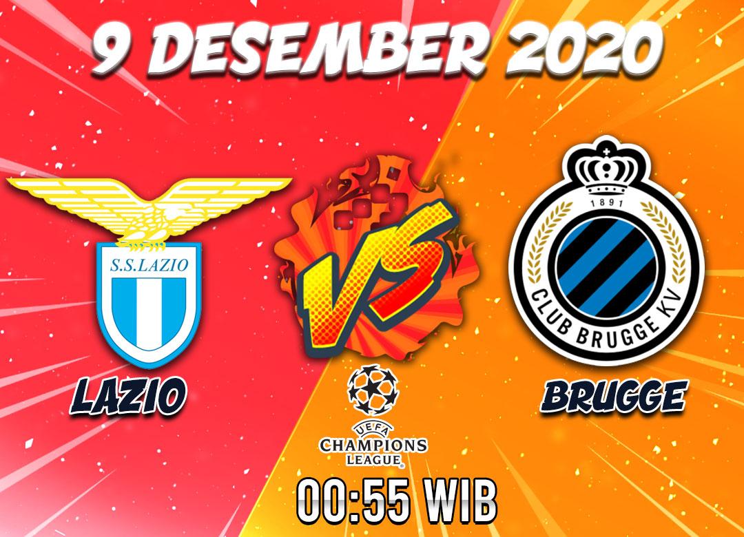 Prediksi Lazio vs Brugge 9 Desember 2020