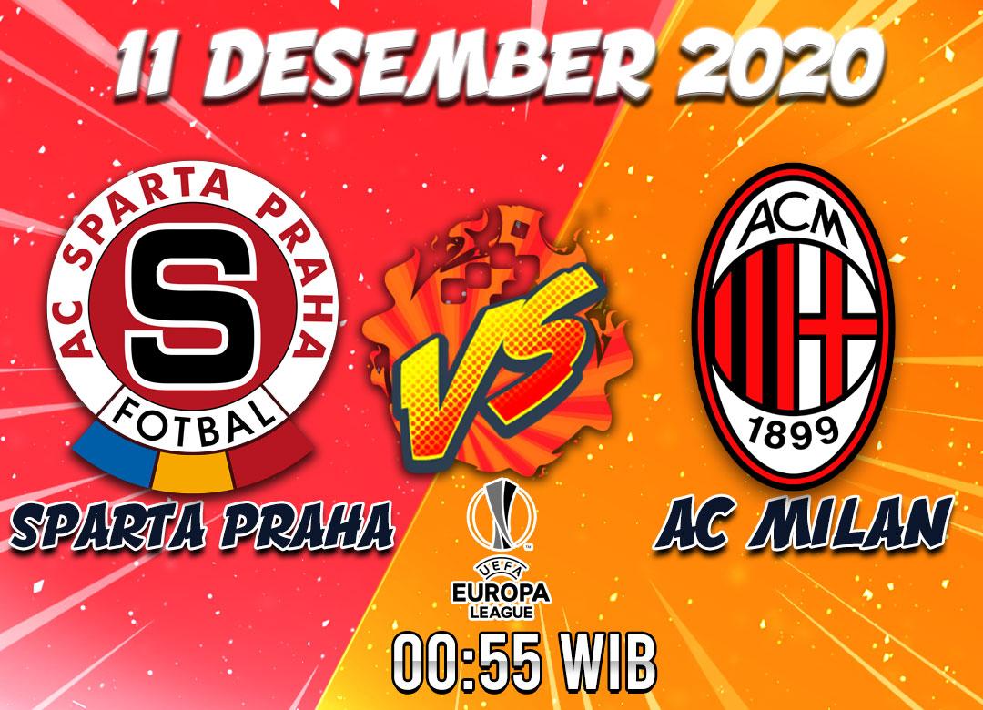 Prediksi Sparta Praha vs Ac Milan 11 Desember 2020